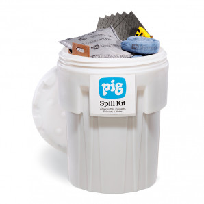 PIG® Spill Kit in a 360-litre Overpack Drum