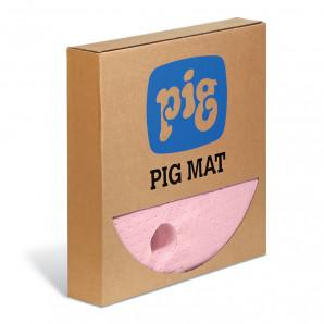 PIG® HazMat Chemical Barrel Top Absorbent Mats - Heavy Weight