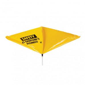PIG® Safety Message Roof Leak Diverter