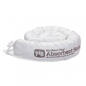 PIG Sheen Clean Oil-Only Absorbent Socks