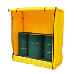 PIG® Essentials Covered Drum Containment Pallets