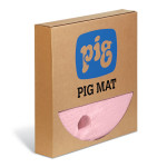 PIG® HazMat Chemical Barrel Top Absorbent Mats - Heavy Weight